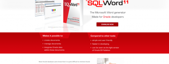SQLWord website